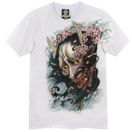 T-Shirt -  Oni White
